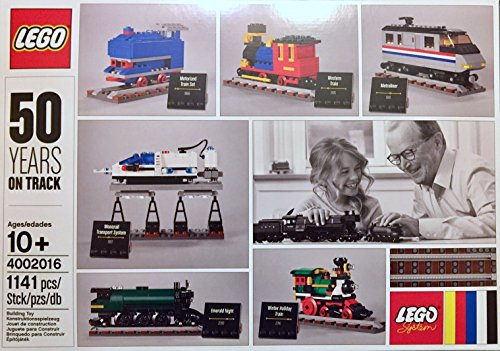 Lego Exclusive Set 4002016 50 Years On Track