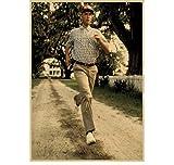 ZJYWYCN Poster Forrest Gump Inspirierende Filme Retro