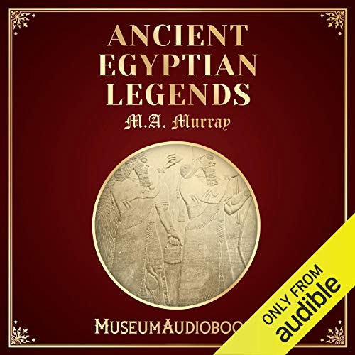 Ancient Egyptian Legends audiobook cover art