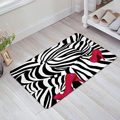Personalized Candy Round Carpet Bathroom Decor Yoga Mat Door Floor Rug Non-slip