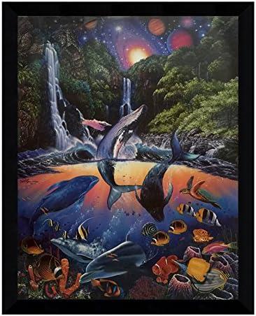 Ocean Sanctuary Kansas City Mall by Christian Riese Glossy Finishe Lassen Louisville-Jefferson County Mall 24x30.5