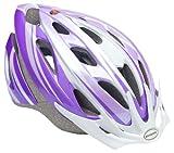 Schwinn Thrasher Bike Helmet, Lightweight Microshell Design, Child, Purple/White