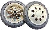 2 roues de remplacement de qualité pour chariot de courses