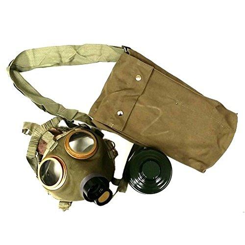 Ungarische Gasmaske Schutzmaske M67 mit Filter und Maskentasche neuwertig