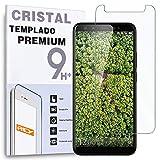 REY Protector de Pantalla para WEIMEI We Plus 3, Cristal Vidrio Templado Premium