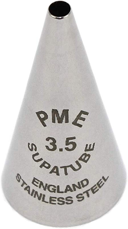 PME ST3 5 Writer No 3 5 Icing Supatube Tip Standard Silver