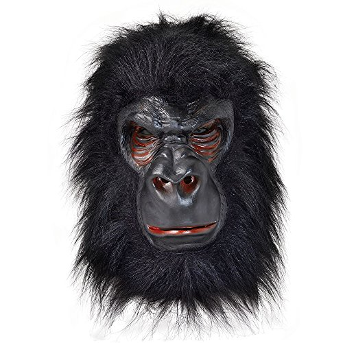 Rubie's BM371–Latex-Maske Gorilla, Einheitsgröße