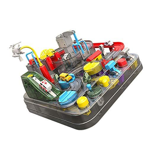 Children Sliding Racing Toy Car Adventure Toy Track Cars juguete para niños y niñas, juguete de aventura coche para regalo de cumpleaños Navidad Día del Niño