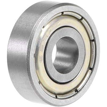 6204Z Metal Sealed Deep Groove Radial Ball Bearing 20x47x14mm