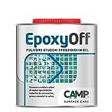 Camp EPOXY OFF, Pulitore in gel specifico per rimuovere residui di stucchi epossidici