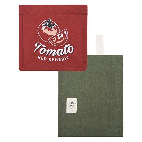 ペーパーホルダーカバー & Green TOMATO
