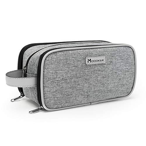 Modoker Bag Easy Organization Travel Toiletry Bag for Men or Women(GREY)