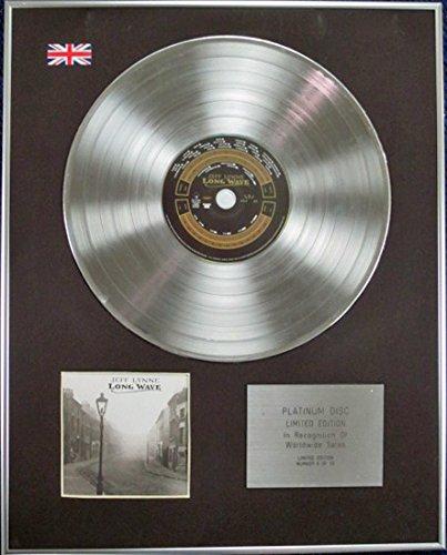 JEFF LYNNE (von ELO) – Limitierte Auflage Platin-CD – Long Wave
