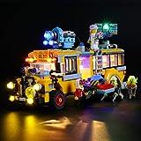 icuanuty Kit de Iluminación LED para Lego 70423, Kit de Luces Compatible con Lego Hidden Side Autobús de Intercepción (No Incluye Modelo Lego)