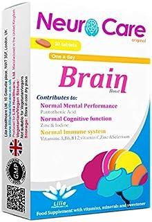 Neuro Care original | Complete Brain Boost Supplement for Normal Mental Performance,Improve Focus | Immunity Support Multi...