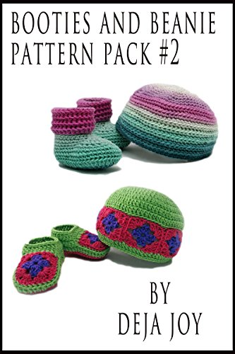 Booties and Beanie Pattern Pack #2 (English Edition)