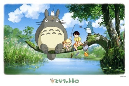 Rompecabezas [1000 piezas] Estudio Ghibli Mi Vecino Totoro, Totoro Pesca (importación de Japón)