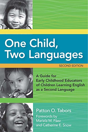 Compare Textbook Prices for One Child, Two Languages: A Guide for Early Childhood Educators of Children Learning English as a Second Language, Second Edition 2nd Edition ISBN 9781557669216 by Tabors Ed.D., Patton,Snow Ph.D., Dr. Catherine E.,Paez Ed.D.  M.Ed., Dr. Mariela