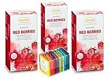 Ronnefeldt Teavelope 'Red Berries' - Früchtetee m. Erdbeer-Himbeergeschmack, 25 Teebeutel, 62,5 g +...