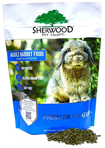 Sherwood Pet Health Adult Rabbit Food - Timothy/Alfalfa Blend 4.5 lb.
