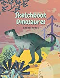 Sketchbook Dinosaur Hadrosaurus: Sketchbook Dinosaurs for Kids, Creative Notebook, 8 to 12 Years old, 120 pages Blank Lined Sketchbook. (Large 8.5x11 inch) Journal for Kids.