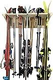Ponderosa Ski Wall Rack