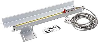 KKmoon Gallerlinjal elektronisk linjal optisk linjär skala fräsningsmaskin svarv tillbehör 400 mm