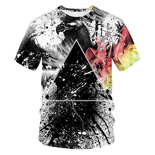 SSBZYES Camiseta para Hombre, Camiseta De Verano De Manga Corta para Hombre, Camiseta con Cuello Redondo Y Estampado De Tigre para Hombre, Camiseta De Gran Tamaño para Hombre