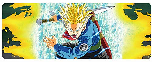 MOUSEPADBD Muispads, 900 mm X 400 mm X 3 mm, Dragon Ball Animation Spel Office Muismat, geschikt voor PC D