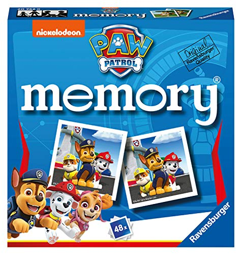 Ravensburger Paw Patrol - Mini Memory Game for Kids age 3 years and up