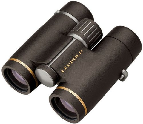 Leupold GR 8x32mm HD BrownGold Ring Binoculars - Mfg# 62800