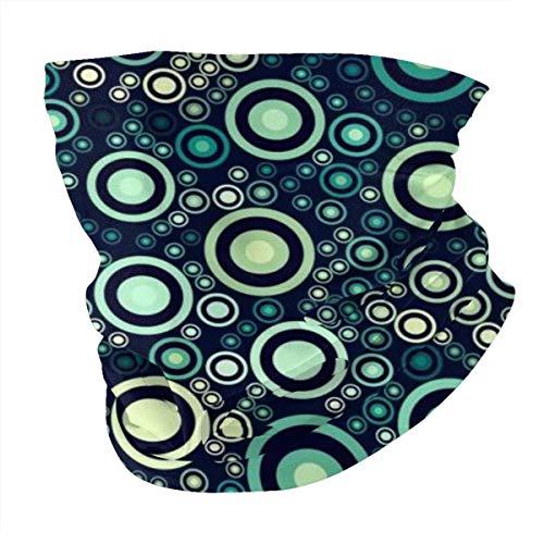 Antokos Circle Unisex reutilizable ajustable cara cubierta bufanda protección UV cuello pasamontañas 3d impreso variedad cabeza bufanda