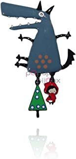pOpup-Bijoux LOL BIJOUX Broche Mary Poppins Prune