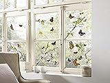 Komar Hochwertiger Window-Sticker Cheerful, Größe 31 x 31