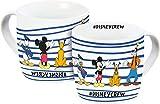 Disney Mickey Mouse 12075 - Taza de porcelana, 300 ml, multicolor