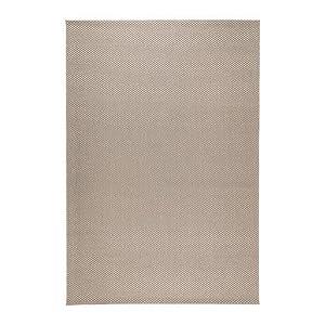 Alfombra MORUM, tela plana, beige en/exterior beige