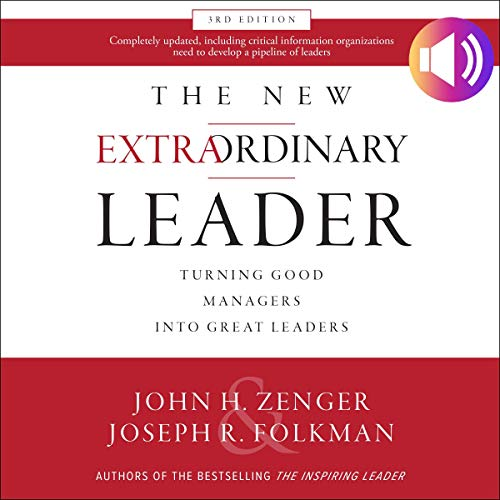The New Extraordinary Leader, 3rd Edition audiobook cover art