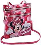 Karactermania Minnie Mouse Bubblegum Bolsos Bandolera, 17 cm, Rosa