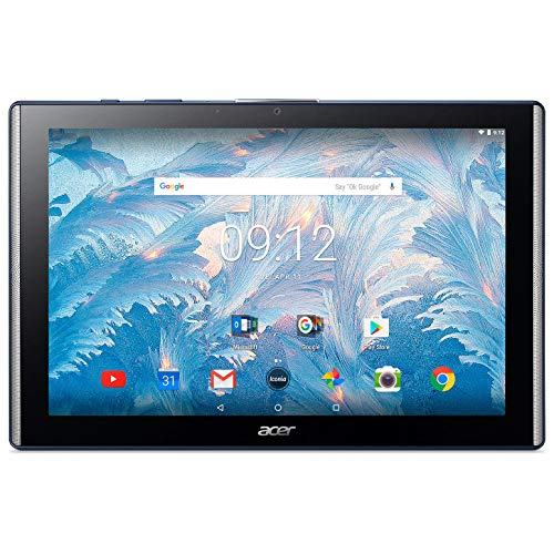 Acer Iconia One 10 B3-A40 10.1-Inch FHD IPS Tablet - Stellar Blue - (MediaTek MT8167A 1.3 Quad Core Processor, 2 GB RAM, 16 GB eMMC, Android 7.0) (Stellar Blue)