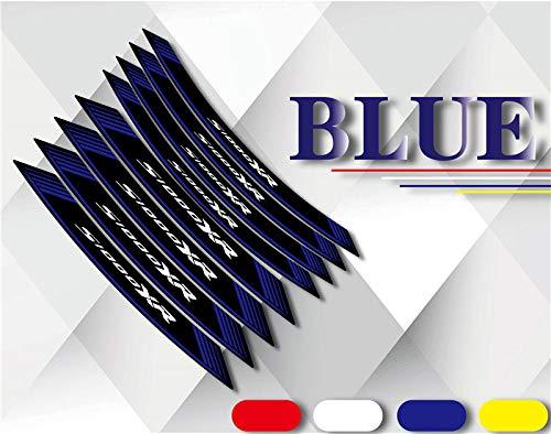 Motorrad Aufkleber Reifen Aufkleber reflektierende dekorative Radfolie geeignet für S1000XR