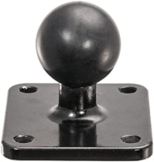 25mm rubber ball adapter for Sirius XM Radio with 4-Hole AMPS Pattern-APAMPS25MM