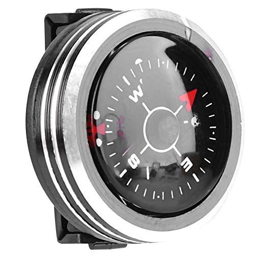 HelloCreate Outdoor-Kompass Leichter Mini-Handgelenkkompass für Survival-Camping-Outdoor-Werkzeugzubehör