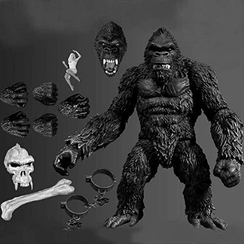QWYU 18cm Kings Monkey Kongs Articolato PVC Azione Figura Modello Giocattoli Regalo
