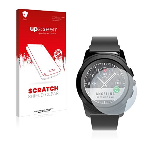 upscreen Schutzfolie kompatibel mit MyKronoz ZeTime Regular (44 mm) – Kristallklar, Kratzschutz, Anti-Fingerprint