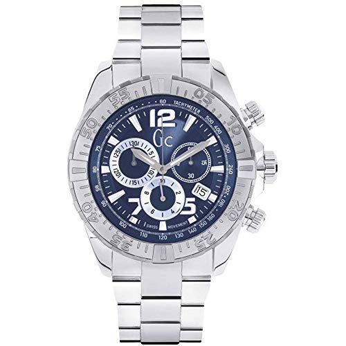 GC Herren Uhr Analog mit Edelstahl Armband Y02004G7