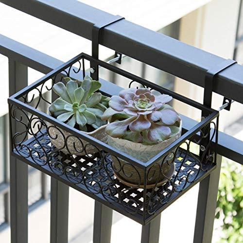Suporte para vasos de flores, cestos suspensos antiferrugem Suporte para plantas Material de ferro para escritório