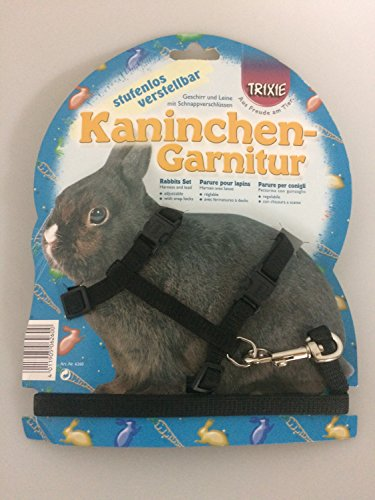 Trixie Nylon Harness with Leash for Rabbits, 25-44 cm x 10 mm