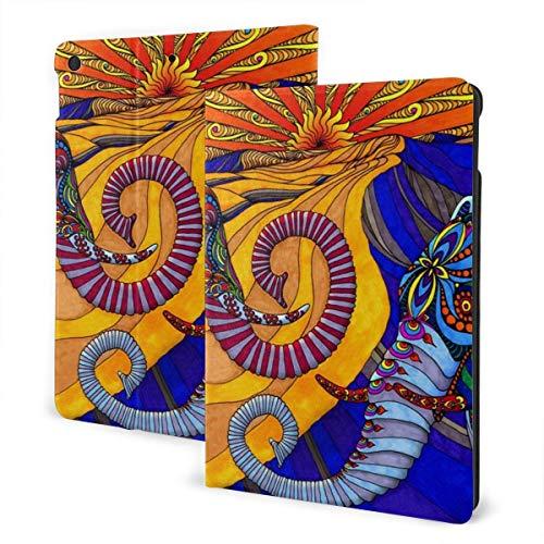 HleHjum formini4 / 5 Schutzhülle für iPad (20 cm / 7,9 Zoll), schlankes Design, leicht, mit Standfunktion