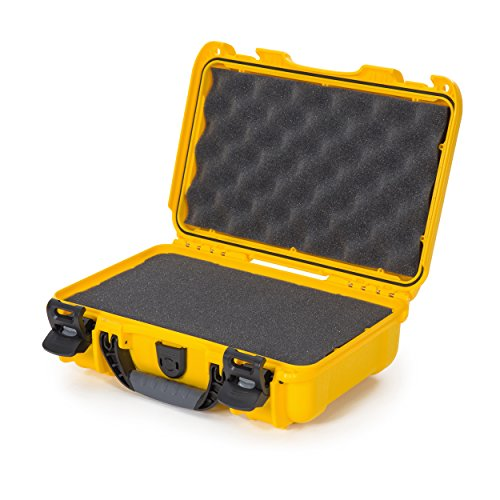 Nanuk 909 Waterproof Hard Case with Foam Insert - Yellow