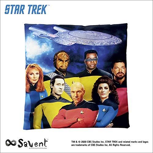 Savent Offizielles Star Trek Kissen TNG Crew 40 x 40 cm